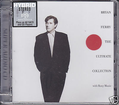 """""""Bryan Ferry The Ultimate Collection with Roxy Music"""" Hybrid Stereo SACD CD New"""