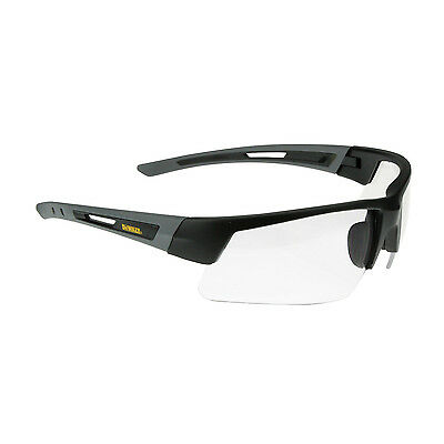 DeWalt Crosscut Safety Glasses Clear Lens DPG100-1