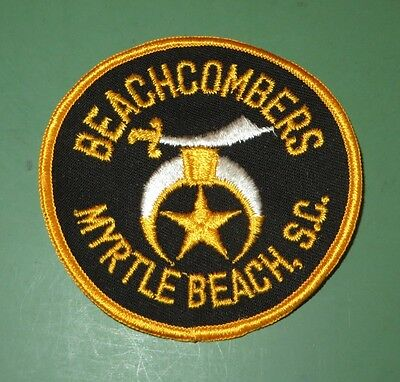 Beachcombers Shriner Masonic Patch Myrtle Beach South Carolina SC