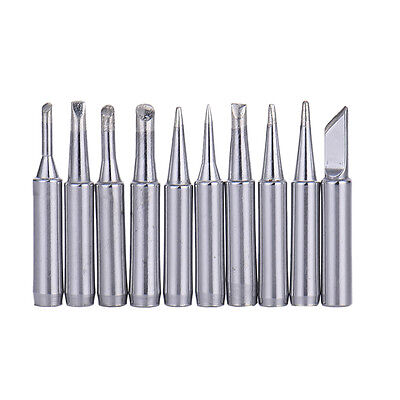 Replace 10 pcs Common Solder Soldering Iron Tip for Hakko Station 900M 933 Tool