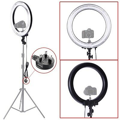 """Neewer 18"""" 600W 5500K Dimmable Camera Flash Ring Light Photo Video Flash Round"""