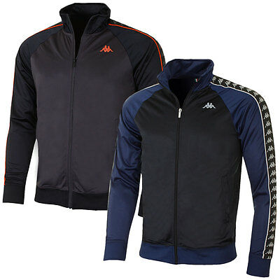 Kappa 2016 Mens Britannia Tracktop Full Zip Training Jacket