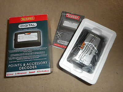 New R8247 Digital Points & Accessory Decoder for Hornby OO Gauge Train Sets
