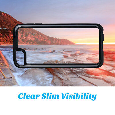 ULAK Crystal Clear Case for iPod Touch 5th 6th 7th Gen Shockproof Bumper Cover