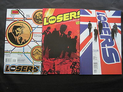The LOSERS 20,21,22 : COMPLETE 3 ISSUE STORY by DIGGLE & JOCK.DC VERTIGO.2005