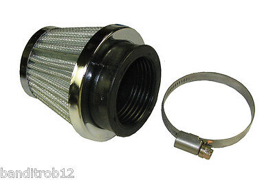Universal Performance Tapered Cone K&N Style Power Motorcycle Air Filter - 29mm