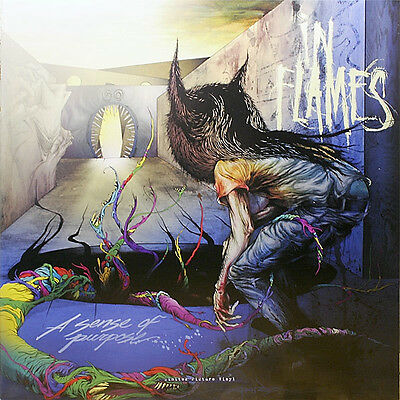 In Flames - A Sense Of Purpose - Lp Picture Disc Vinyl New Sealed - Copy # 1761
