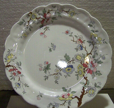 Booths Chinese Tree Dinner Plate 10 1/2""