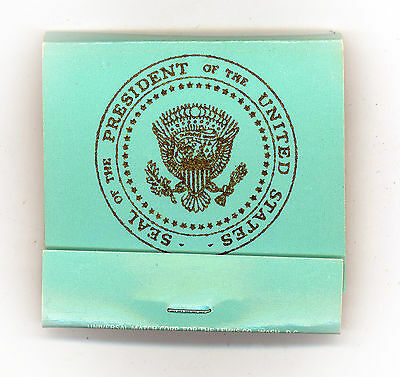 """*  Original  ~  """" PRESIDENT FORD - AIR FORCE ONE """"  ~  Matchbook - Intact"""