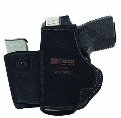 Galco WLK460B Black Right Hand Walkabout Inside Pant Holster Fit Kahr MK40