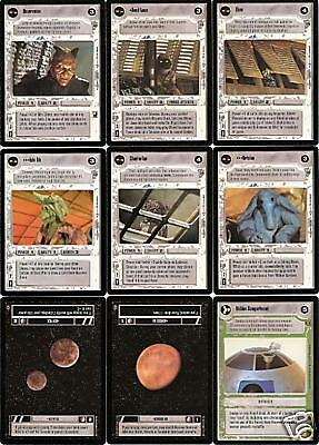 Double Laser Cannon  Star Wars CCG Jabba/'s Palace NM swccg