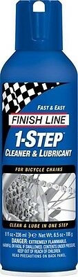 Finish Line 1-Step Cleaner and Lubricant 8oz Aerosol