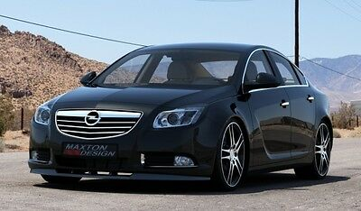 Cup Spoilerlippe Front Diffusor Carbon Opel INSIGNIA MK1 vor Facelift MODEL