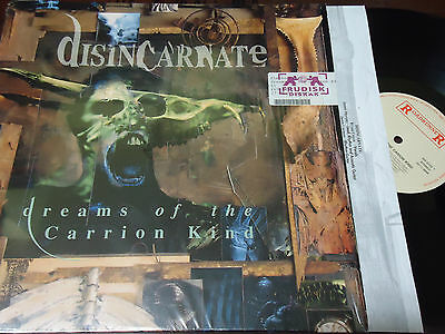 "DISINCARNATE - Dreams Of The Carrion Kind , LP 12"" IMPORT 1993"