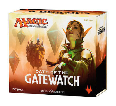 MAGIC THE GATHERING CCG - Oath of the Gatewatch Cards Fat Pack (WOTC) #NEW