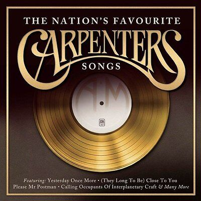 Carpenters - The Nation's Favourite Songs - CD NEW & SEALED   Best of / Hits