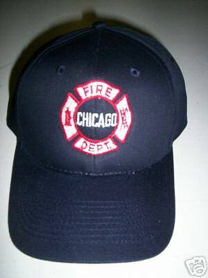 Chicago Fire Dept. embroidered  hat