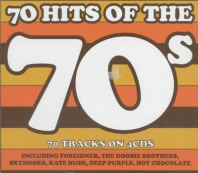 70 HITS OF THE 70s - Various Artists 4 CD *NEW* 2016