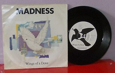 "Madness ""wings Of A Dove""  45 Giri 7"" -  1983 England"