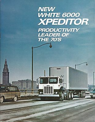Truck Brochure - White - 6000 Expeditor - c1970's (T1752)