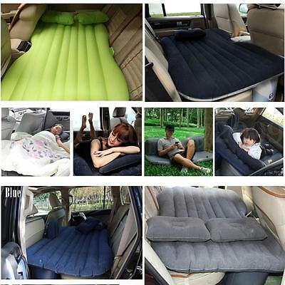 SUV Car Inflatable Airbed Mattress Back Rear Seat Sleep Rest Bed Outdoor Travel