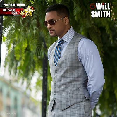 Will Smith Unofficial 2017 Square 12 Month Celebrity Calendar (P)