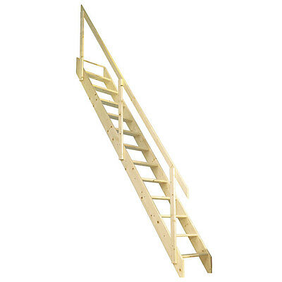 Deluxe Space Saving/Saver Staircase/Stairs Loft Stair Ladder - Up To 2.83m