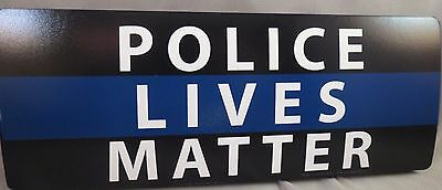 WHOLESALE LOT OF 10 POLICE LIVES MATTER MAGNETS BLUE LINE LAW COP BUMPER sticker