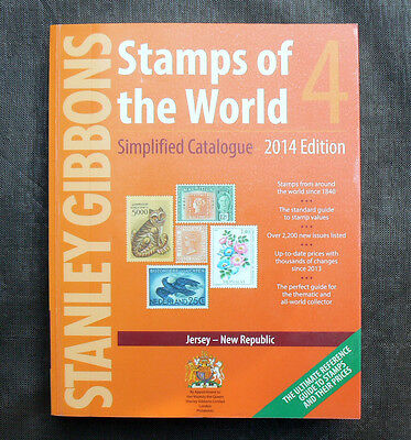 Volume 4 J-N 2014 Stanley Gibbons Stamps of the World Catalogue Catalog book Vol
