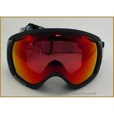 Maschera da sci OAKLEY CANOPY 7047-43 Matte Black Prizm Torch - Medium