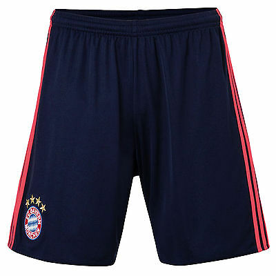 adidas Performance Junior Boys FC Bayern UCL Replica Football Shorts - Navy