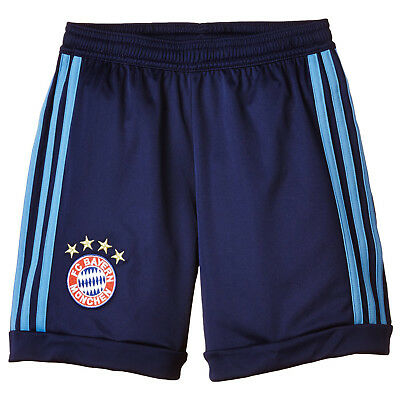 adidas Boys FC Bayern Munich 15/16 Home Replica Football Goalkeeper Shorts
