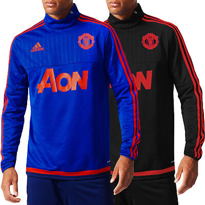 adidas Performance Mens Manchester United 15/16 Football Training Track Top