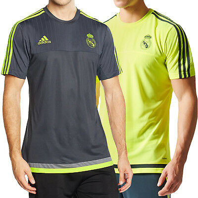 adidas Performance Mens Real Madrid 15/16 Football Training T Shirt Top