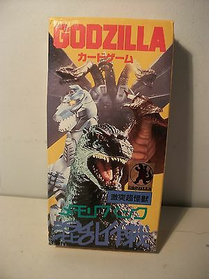 Godzilla Japanese exclusive card game Mint perfect condition