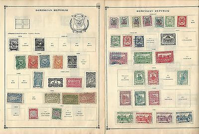 Dominican Republic 1879-1962 Collection on Scott International Pages, 30 Pages