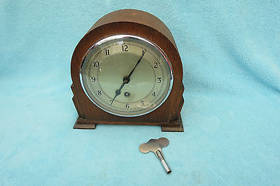 Vintage Garrard 8 Day Timepiece Mantel Clock For Tlc