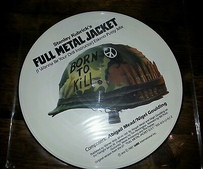 "Full Metal Jacket (I Wanna Be Your Drill Instructor) 12"" Pic Disc W8187Tp 1987"
