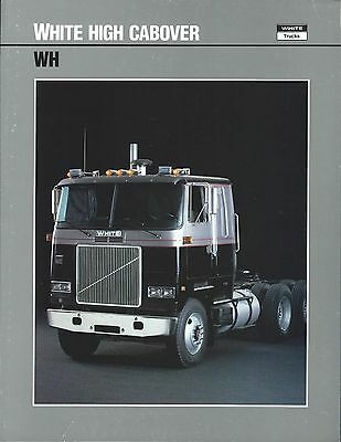 Truck Brochure - White - WH - High Cabover  (T1775)