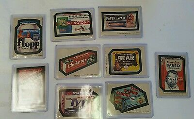 Lot of Vintage 1970s WACKY PACKAGES  Card/Stickers