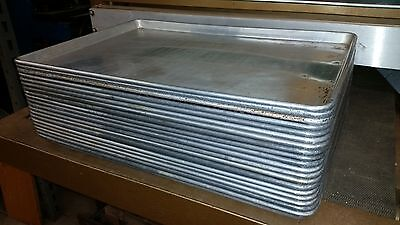 19 pcs heavy duty commercial kitchen baking pans proofer cabinet 25-3/4 x 18