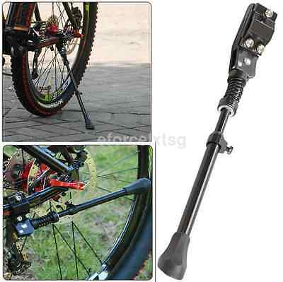 Adjustable Rear Kickstand Alloy Single Leg Black For Mountain Bike Bicycle US