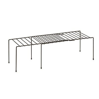 Honey-Can-Do KCH-04370 Adjustable Coated Steel Wire Shelf, 5.9 by 14.8-26 by