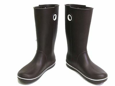 Auth eLADY Limited Edition Rain Boots Rubber Brown 24cm Ladies (UJ103443)