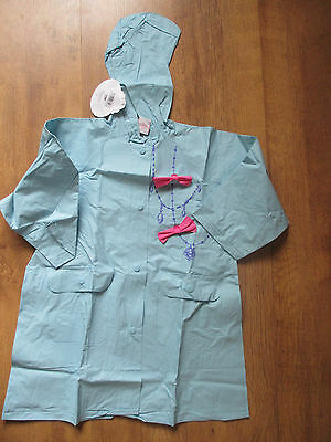 Disney Princess Raincoat  Age 2  NEW WITH TAGS  blue