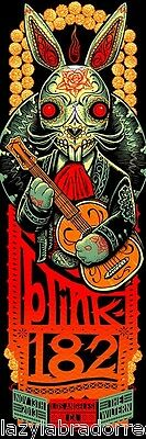 Blink 182 The Wiltern LA Los Angeles CA Show Gig Poster Silkscreen 11/13/13