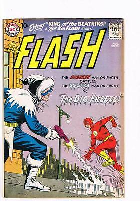 Flash # 114 The Big Freeze !! Captain Cold grade 5.0 scarce hot book !!