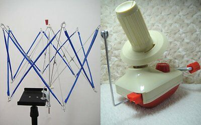 Metal Umbrella Swift Winder Holder and Hand-Operated