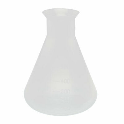 Chemistry Laboratory 500ml Plastic Cone Measuring Cup Thicken Clear