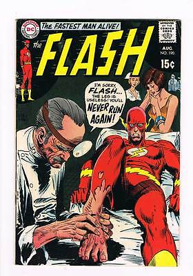 Flash # 190 Super Speed Agent of the Flash ! grade 4.5 scarce book !!